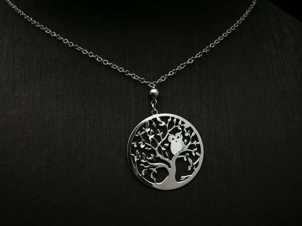 Srebrna ogrlica Tree of Life