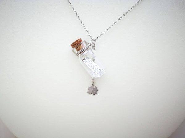 Personalizirana ogrlica Poruka u Boci Faith