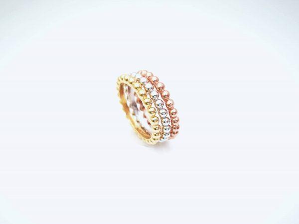 Bubbles srebrni prsteni