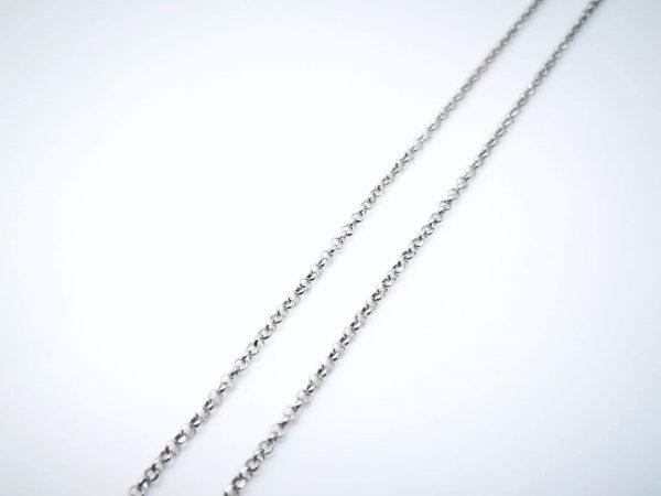 Rolo srebrni lančić 45