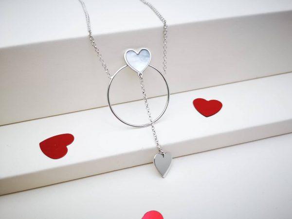 Krug ljubavi ogrlica