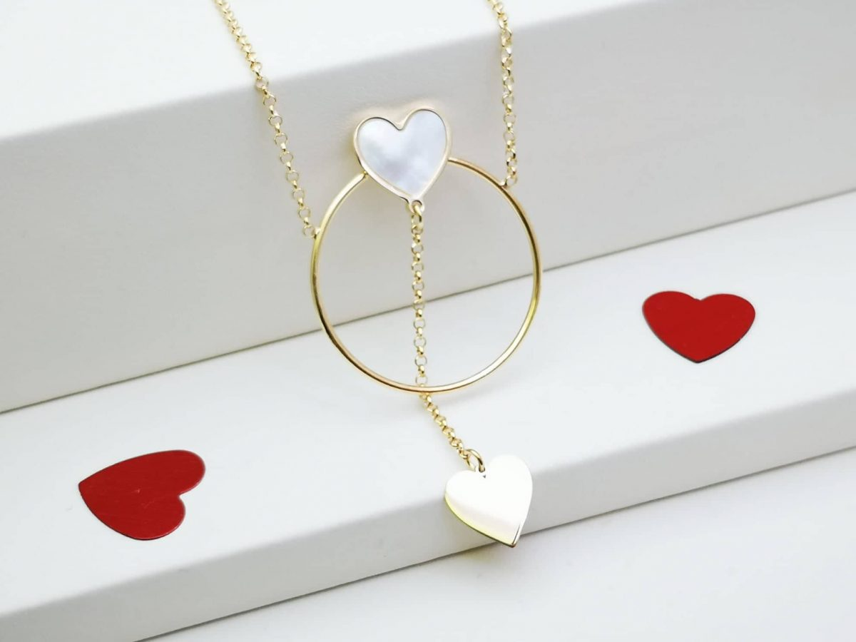 Krug ljubavi ogrlicagold