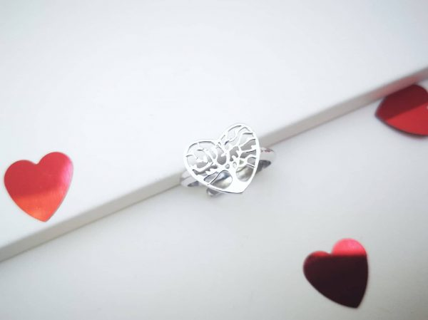 Stablo ljubavi srebrni prsten