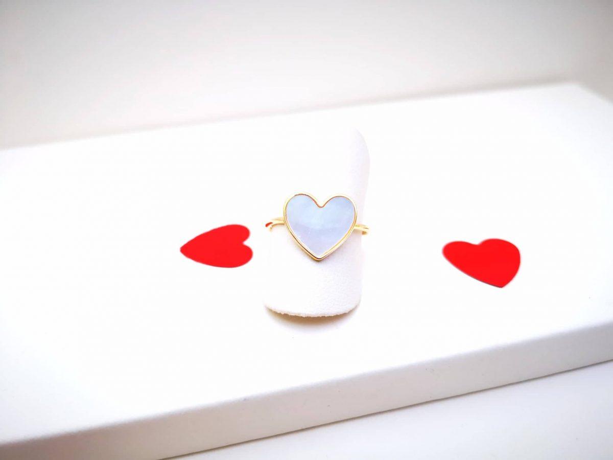 Zlatno Srce srebrni prsten