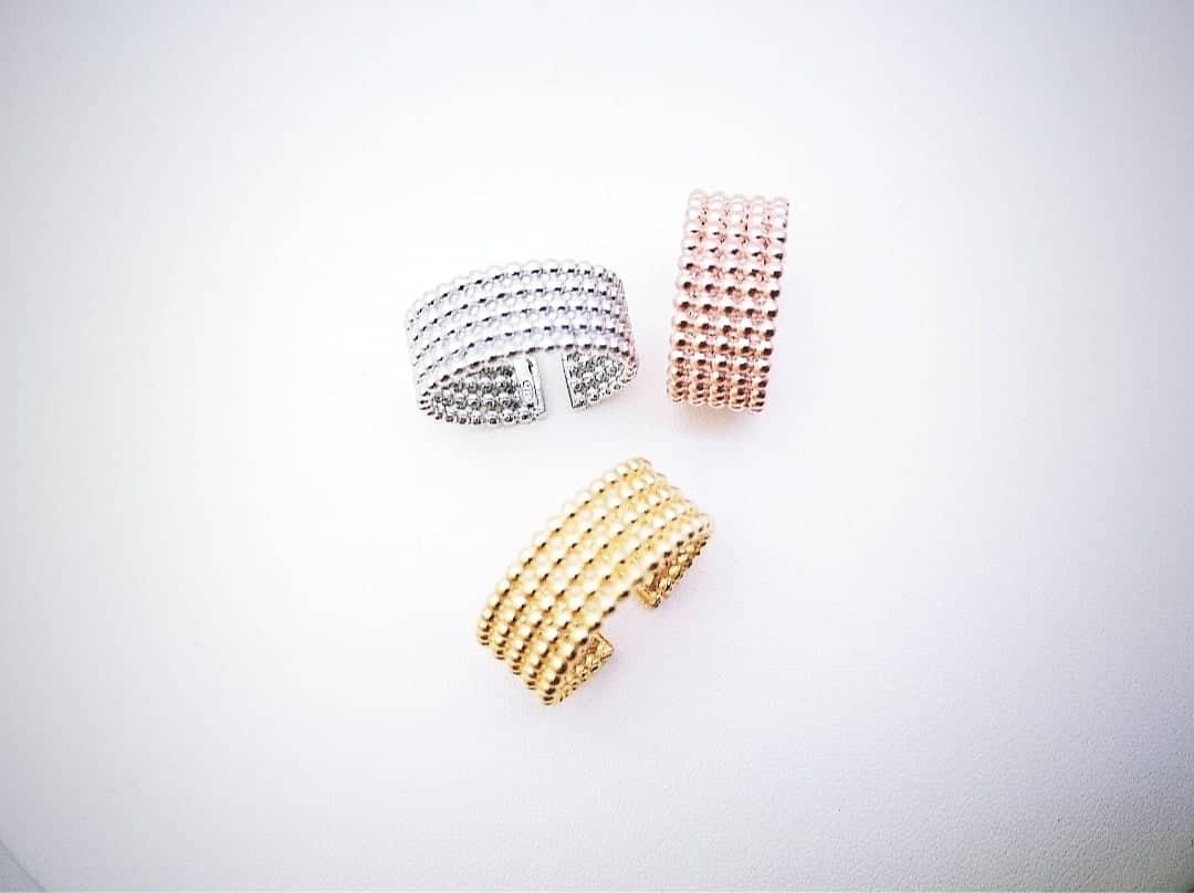 Glam srebrni prsten