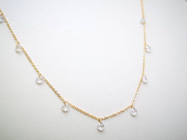 Luminous Ice srebrna ogrlica