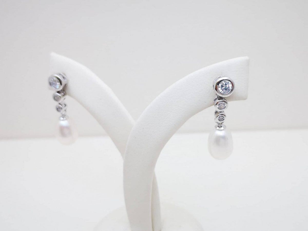 Pearls glam srebrni nakit
