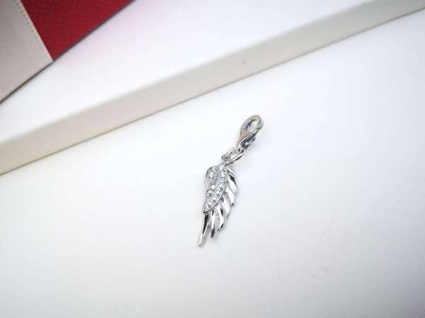 Anđeoska krila srebrni privjesak