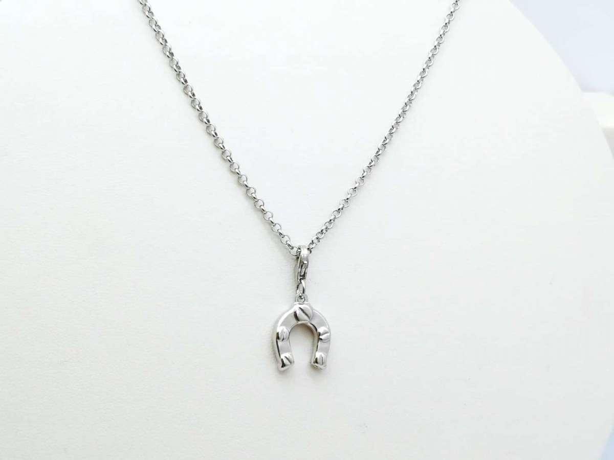 Potkova srebrna ogrlica