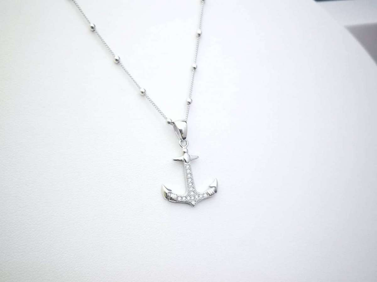 Sidro srebrna ogrlica