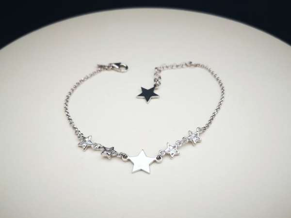 Srebrna narukvica Silver Stars