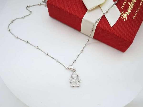 Baby girl srebrna ogrlica