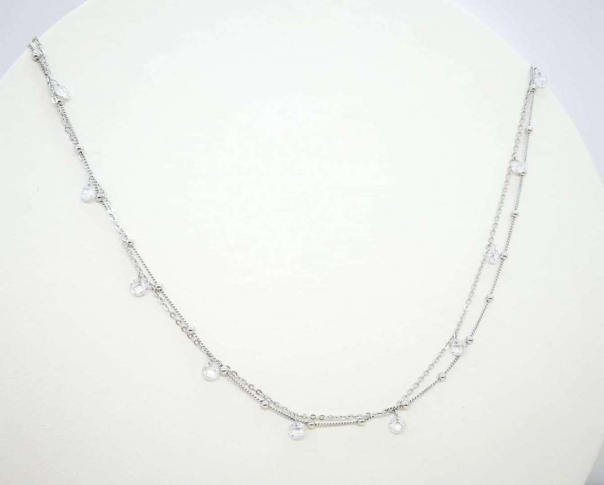 Luminous Ice choker srebrna ogrlica
