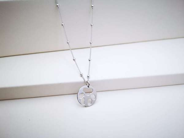 Šapica srebrna ogrlica
