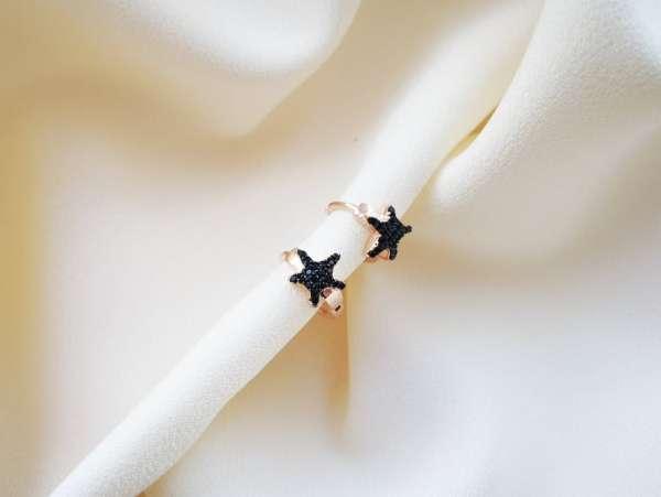 Black Star srebrne naušnice