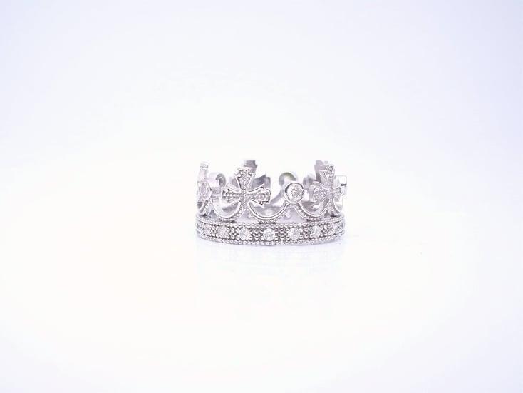 Kruna srebrni prsten