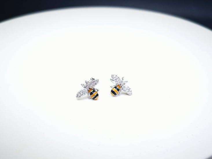 Pčelice srebrne naušnice