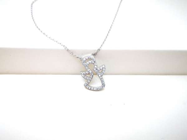 Srebrna ogrlica Angel