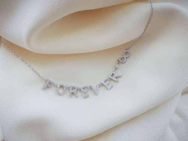 Forever srebrna ogrlica