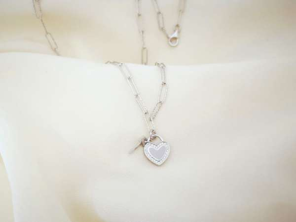 Ljubavni ključ srebrna ogrlica