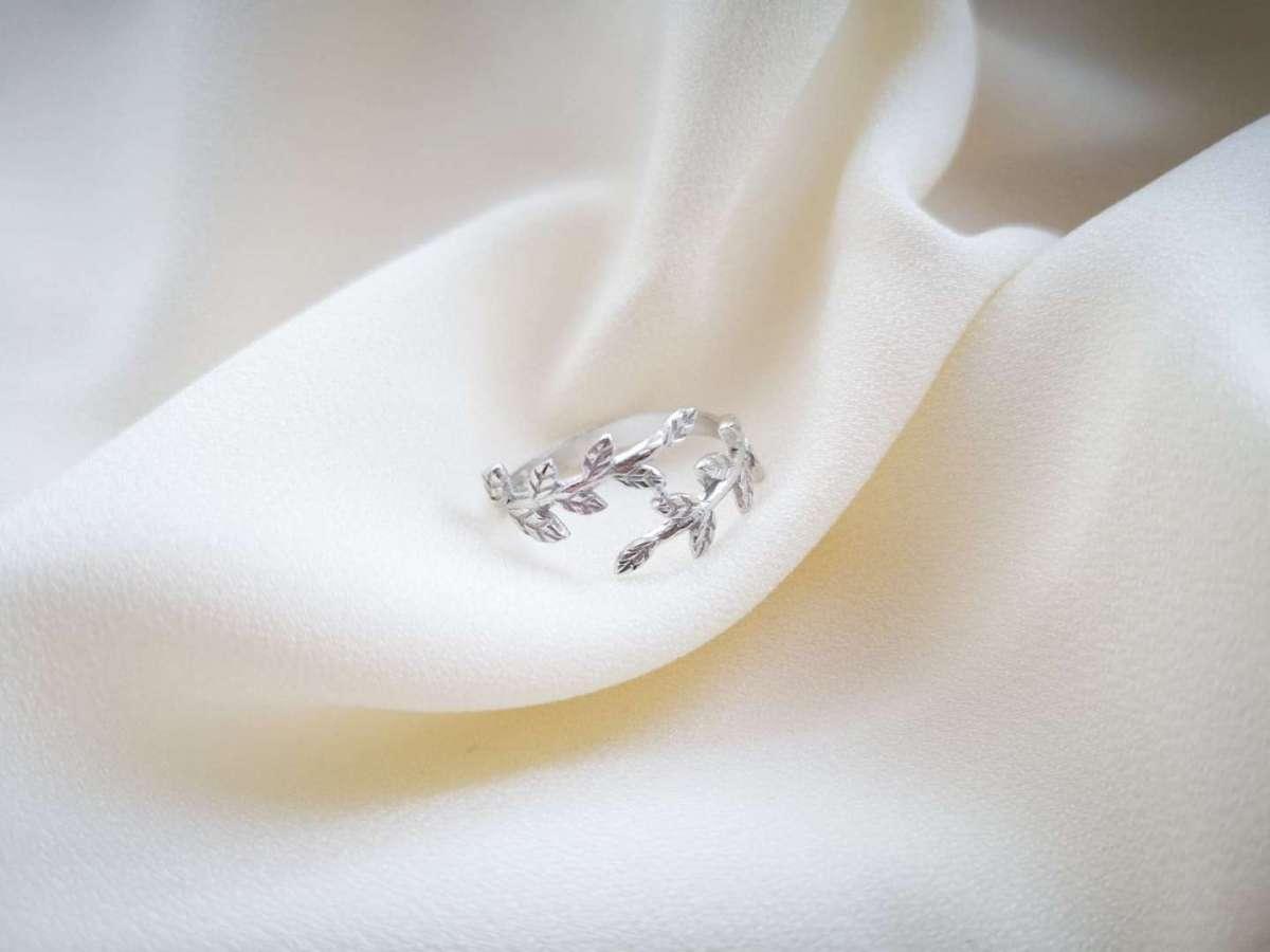 Maslina srebrni prsten