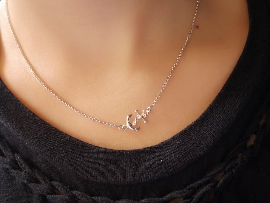 Malo Sidro srebrna ogrlica