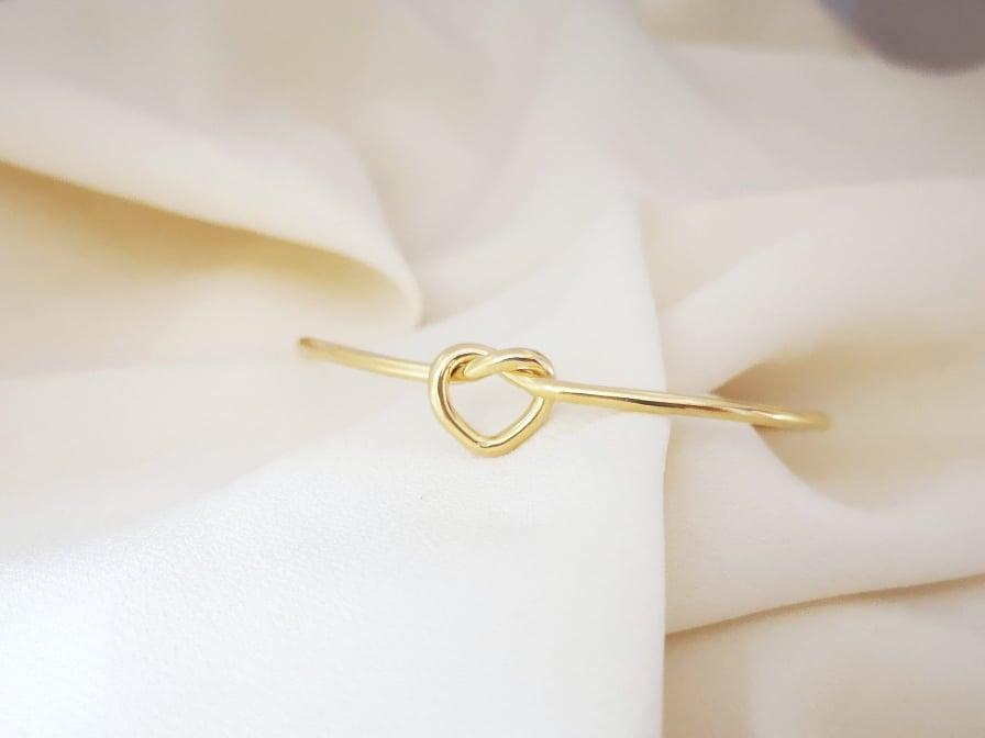 Srebrna narukvica True love's knot