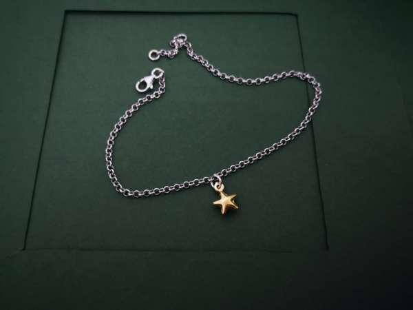 Star gold srebrna nanognica