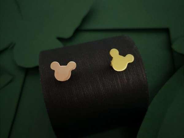 Mickey srebrne naušnice