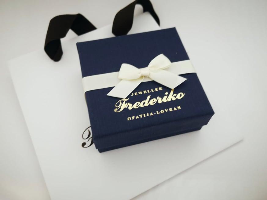 Frederiko ukrasna kutija plava