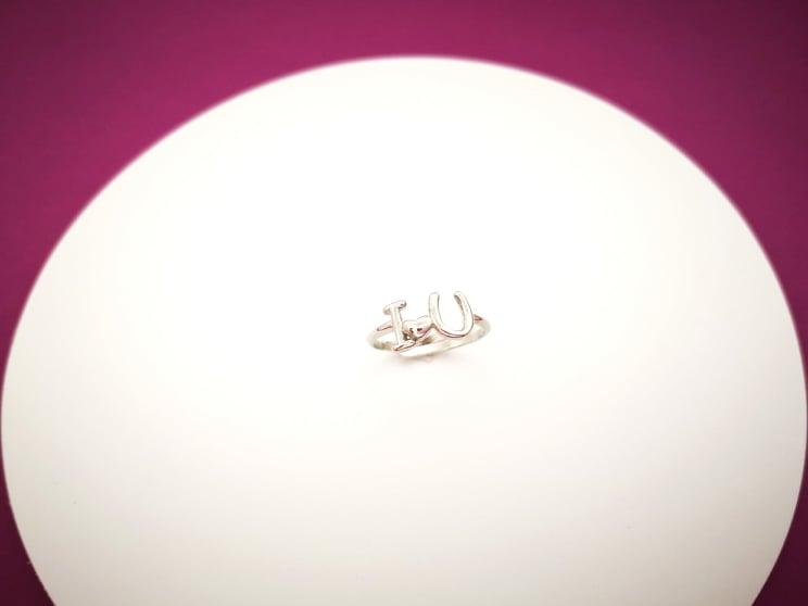 Love srebrni prsten
