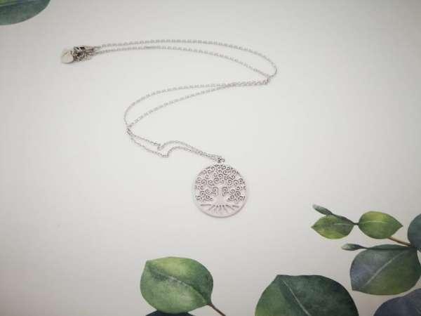Stablo života srebrna ogrlica