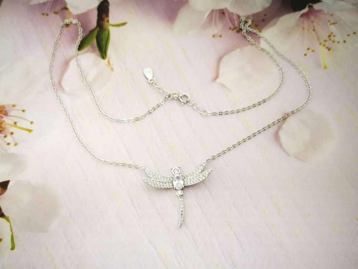 Vilin konjic srebrna ogrlica