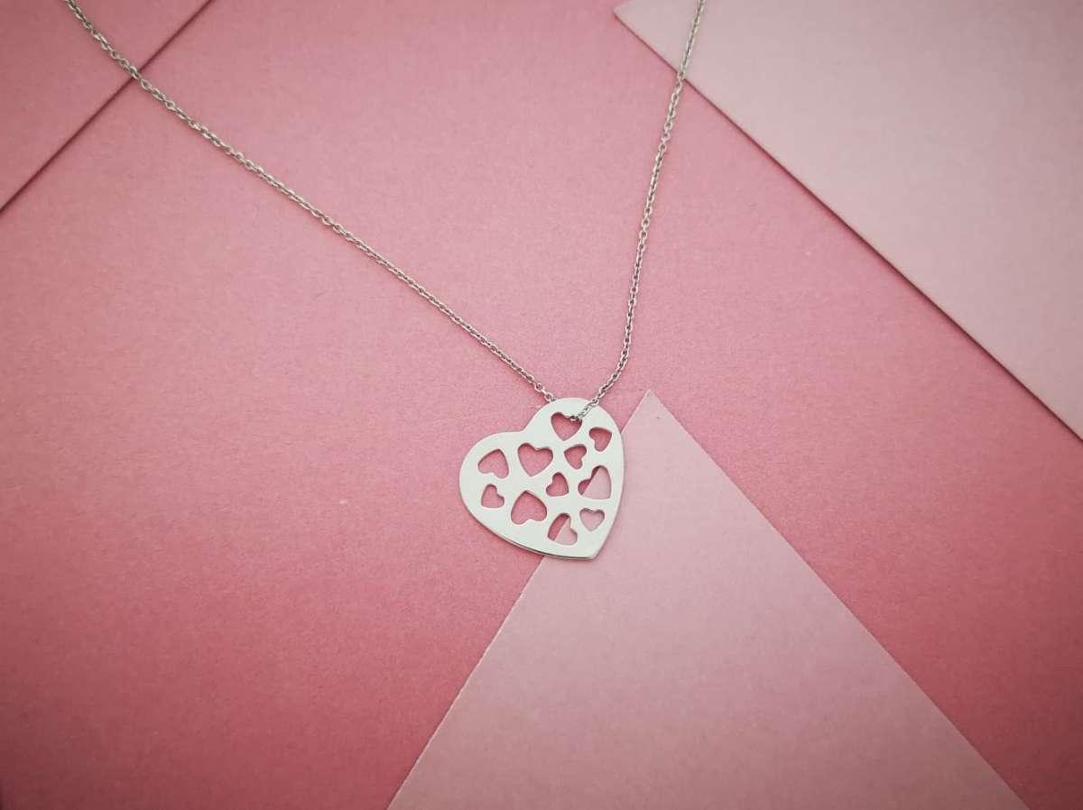 Zlatna ogrlica srca