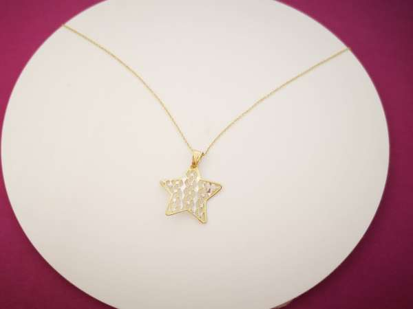 Zlatna ogrlica Star