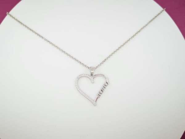 Mamino srce srebrna ogrlica